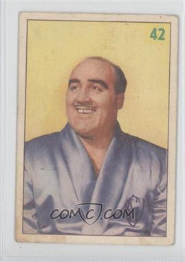 1955-56 Parkhurst Wrestling #42 - Pat Flanagan