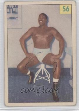 1955-56 Parkhurst Wrestling #56 - Bearcat Wright