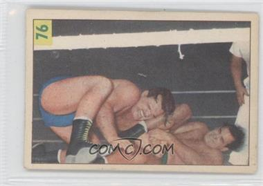 1955-56 Parkhurst Wrestling #76 - Lou Thesz
