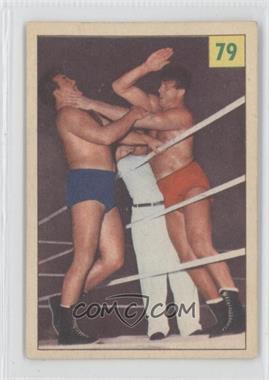 1955-56 Parkhurst Wrestling #79 - [Missing]