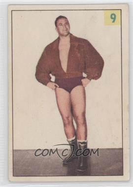 1955-56 Parkhurst Wrestling #9 - Roy Mclarity