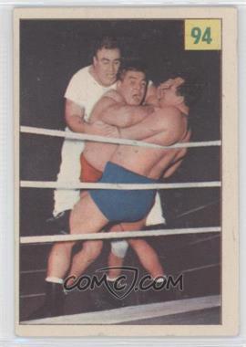 1955-56 Parkhurst Wrestling #94 - Yvon Robert