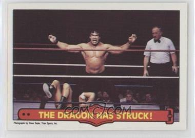 """1985 O-Pee-Chee Pro Wrestling Stars - [Base] #26 - Ricky """"The Dragon"""" Steamboat"""