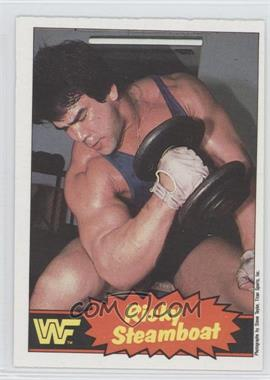 """1985 O-Pee-Chee Pro Wrestling Stars - [Base] #5 - Ricky """"The Dragon"""" Steamboat"""