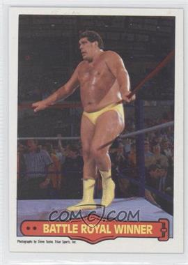 1985 O-Pee-Chee Pro Wrestling Stars - [Base] #73 - Andre the Giant