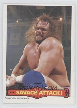 1985 O-Pee-Chee Pro Wrestling Stars #11 - Randy Savage