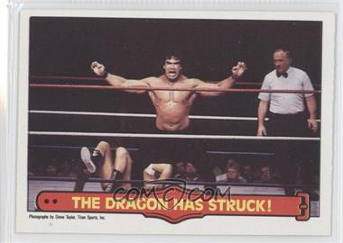 "1985 O-Pee-Chee Pro Wrestling Stars #26 - Ricky ""The Dragon"" Steamboat"