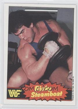 """1985 O-Pee-Chee Pro Wrestling Stars #5 - Ricky """"The Dragon"""" Steamboat"""