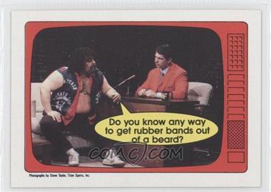 1985 O-Pee-Chee Pro Wrestling Stars #55 - Lou Albano