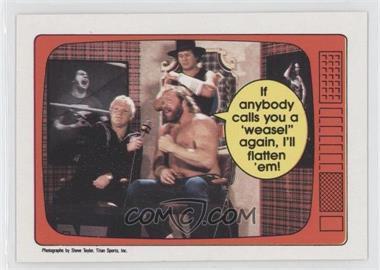 1985 O-Pee-Chee Pro Wrestling Stars #65 - Big John Studd