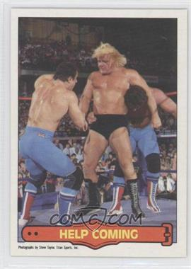 "1985 O-Pee-Chee Pro Wrestling Stars #69 - Greg ""The Hammer"" Valentine, Davey Boy Smith, Dynamite Kid"