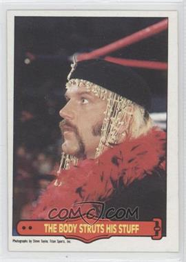 1985 O-Pee-Chee Pro Wrestling Stars #70 - Jesse Ventura