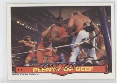 1985 O-Pee-Chee Pro Wrestling Stars #72 - William Perry, Big John Studd
