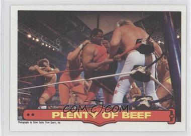 1985 O-Pee-Chee Pro Wrestling Stars #72 - William Perry, Big John Studd