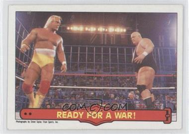 1985 O-Pee-Chee Pro Wrestling Stars #75 - Hulk Hogan, King Kong Bundy