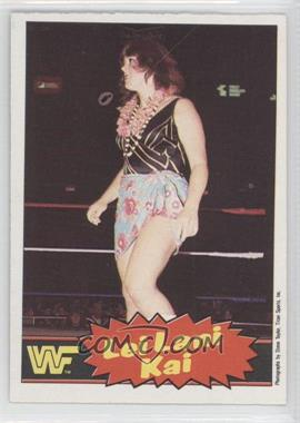 1985 O-Pee-Chee Pro Wrestling Stars #9 - Lei Lani Kai