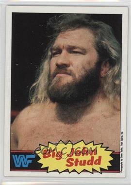 1985 Topps WWF - [Base] #12 - Big John Studd