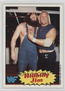 1985 Topps WWF - [Base] #15 - Hillbilly Jim