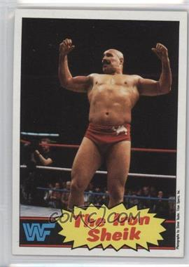 1985 Topps WWF - [Base] #2 - The Iron Sheik