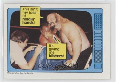 1985 Topps WWF - [Base] #61 - Jesse Ventura, Ivan Putski