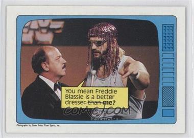 1985 Topps WWF - [Base] #62 - Jesse Ventura, Gene Okerlund