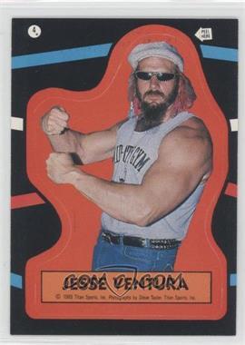 1985 Topps WWF - Stickers #4 - Jesse Ventura