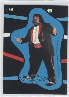 1985 Topps WWF Stickers #12 - [Missing]