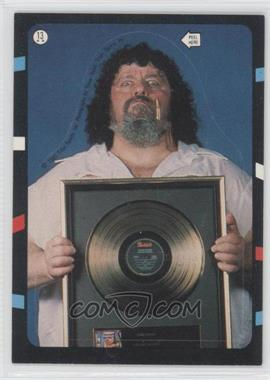 1985 Topps WWF Stickers #13 - Lou Albano