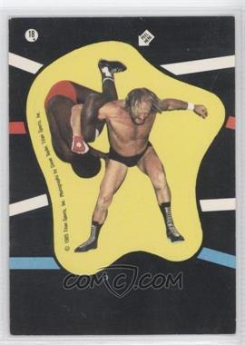 1985 Topps WWF Stickers #18 - Hulk Hogan
