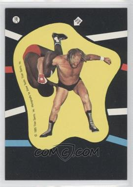 1985 Topps WWF Stickers #18 - Rene Goulet, S.D. Jones
