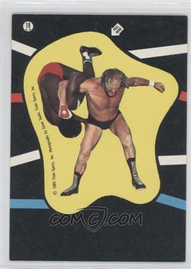 1985 Topps WWF Stickers #18 - Rene Goulet, S.D. Jones