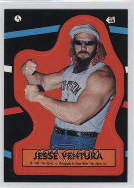 1985 Topps WWF Stickers #4 - Jesse Ventura