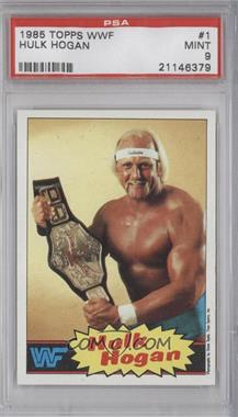 1985 Topps WWF #1 - Hulk Hogan [PSA9]