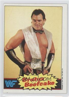 "1985 Topps WWF #10 - Brutus ""The Barber"" Beefcake"