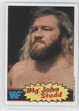 1985 Topps WWF #12 - Big John Studd