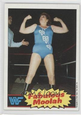 1985 Topps WWF #13 - The Fabulous Moolah
