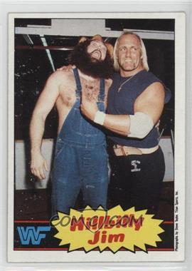 1985 Topps WWF #15 - Hillbilly Jim