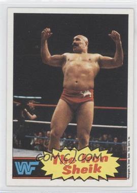 1985 Topps WWF #2 - The Iron Sheik