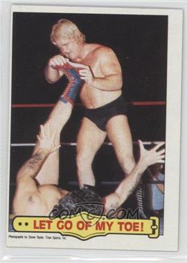 "1985 Topps WWF #22 - Greg ""The Hammer"" Valentine, Tito Santana"