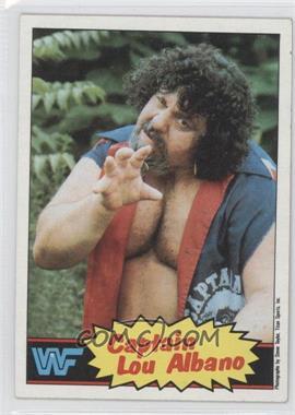 1985 Topps WWF #3 - Lou Albano