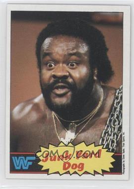 1985 Topps WWF #4 - Junkyard Dog