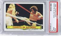 Andre the Giant, Big John Studd [PSA9]