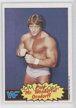 1985 Topps WWF #5 - Paul Orndorff