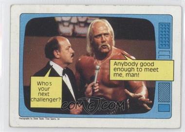 1985 Topps WWF #57 - Hulk Hogan