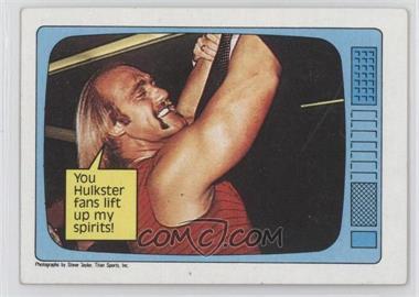 1985 Topps WWF #60 - Hulk Hogan