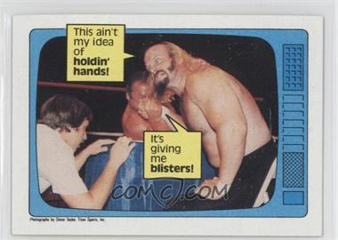 1985 Topps WWF #61 - Jesse Ventura, Ivan Putski