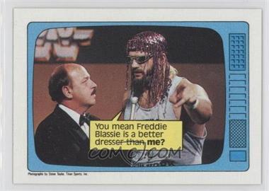 1985 Topps WWF #62 - Jesse Ventura, Gene Okerlund