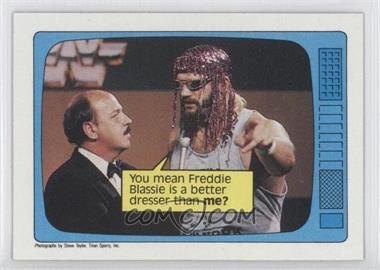 1985 Topps WWF #62 - Jesse Ventura