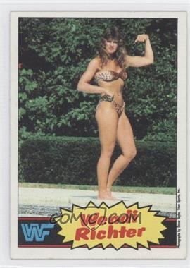 1985 Topps WWF #8 - Wendi Richter