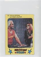 Hulk Hogan & Cyndi Lauper
